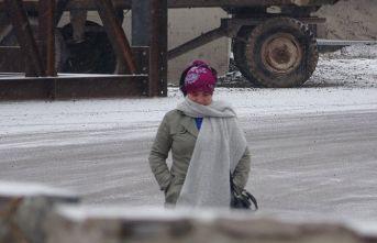 Bayburt'ta soğuk hava etkisini sürdürüyor