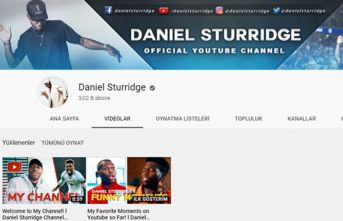Sturridge youtuber oldu