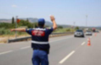 Trabzon'da 22 araç trafikten men edildi