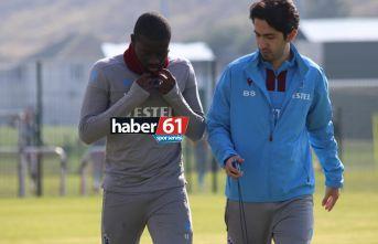 Trabzonspor'un yıldızları idmana katılmadı!