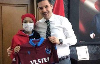 Giresunlu gencin hayali gerçek oldu! Trabzonspor formasına kavuştu