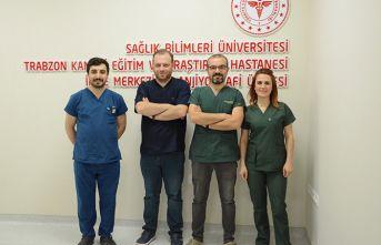 Trabzon'da sağlık alanında bir ilk! Beyin damarları...