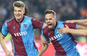 Trabzonspor deplasmanda da liderliğini sürdürmek...