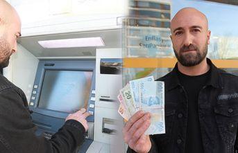ATM'nin verdiği fazla paraları bankaya iade etti