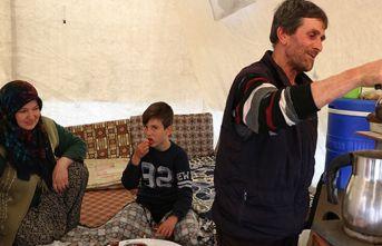 Deprem korkusu evlerini unutturdu
