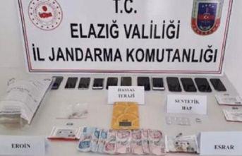 Elazığ'da uyuşturucu operasyonunda 18 tutuklama