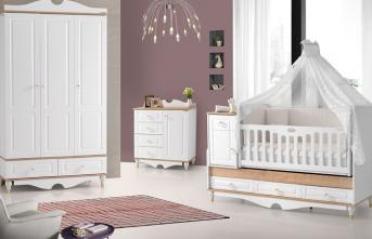 Kız bebekler için bebek odası nasıl hazırlanır? İşte detaylar...