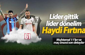 Beşiktaş Trabzonspor maçı saat kaçta,hangi kanalda?