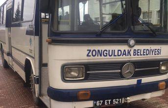 Hekimoğlu Trabzon'un rakibinin otobüsü şaşırttı!
