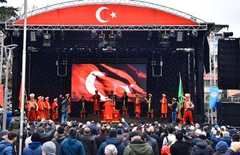 Trabzon'da kurtuluş coşkusu sürüyor