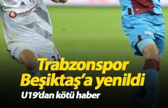U19 'da Trabzonspor Beşiktaş'a yenildi