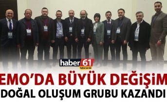EMO Trabzon Şubesinde büyük değişim! Yeni başkanı...