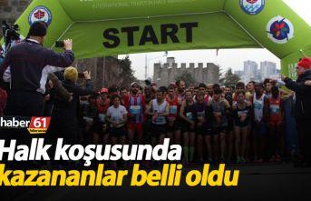Trabzon yarı maratonunda ilk kazananlar belli oldu