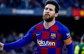 Barcelona'da Lionel Messi tarih yazıyor