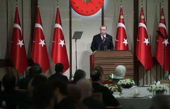 Cumhurbaşkanı Erdoğan'dan bağış çağrısı