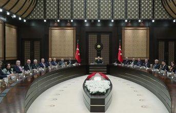 Cumhurbaşkanı Erdoğan Yargıda Birlik Platformu heyetini kabul etti