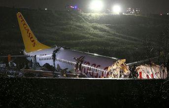 Pistten çıkan uçağın pilotu tutuklandı