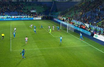 Rize'den istenen sonuç gelmedi, Trabzonspor'un liderliği gitti