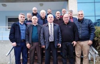 Salih Seyyar'dan ASKF'ye ziyaret