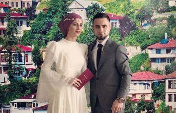 Trabzon'da çocukluk aşkını 11 yıl bekledi, sonunda imzayı attırdı...
