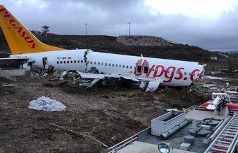 Uçak kazasında pilota tutuklama talebi