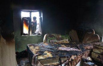 4 yaşındaki Hilal yangında öldü