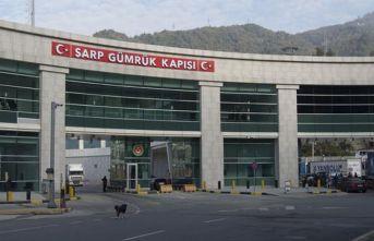 Sarp Sınır Kapısı'ndan 6 milyon 796 bin kişi...