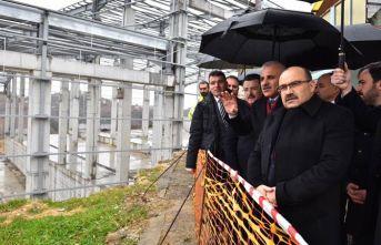 Trabzon'daki katı atık tesisi Türkiye'de ilk olacak