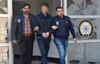 50 yıl hapis cezası ile aranan hükümlü Mersin'de yakalandı