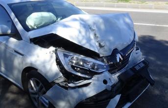 Diyarbakır'da korkutan trafik kazası