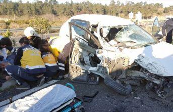 Muğla'da 2 ayrı kaza