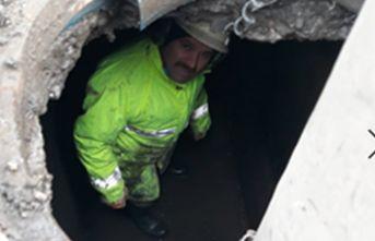 Trabzon'da yeraltı temizleniyor