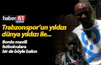 Trabzonsporlu futbolcuları böyle gördünüz mü?