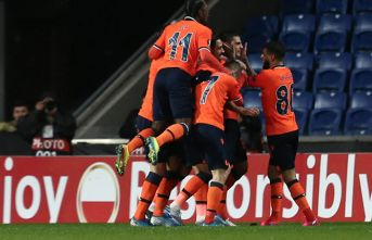 Başakşehir Avrupa Ligi'nde son 16'ya kaldı!