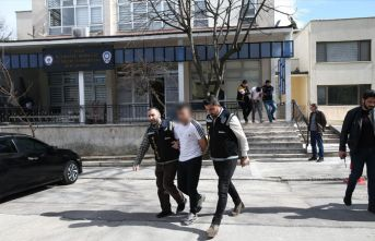 Bursa'da soygun yapan çarşaflı şahıslar yakalandı
