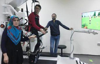 Trabzon Kemik Hastanesi'nde robotik tedavi yürüyemeyenlerin mucizesi oldu