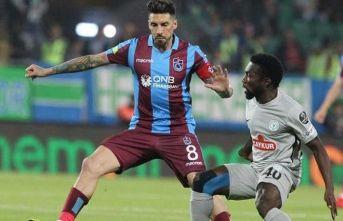 Trabzonspor ile Çaykur Rizespor 38. randevuda