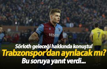 Sörloth açıkladı, Trabzonspor'dan ayrılacak...