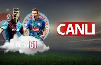 Trabzonspor Rizespor | CANLI
