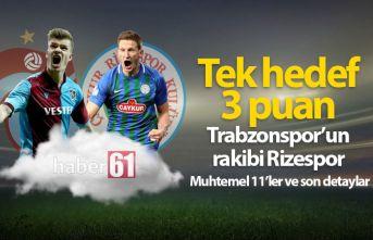 Trabzonspor Rizespor maçı saat kaçta hangi kanalda?