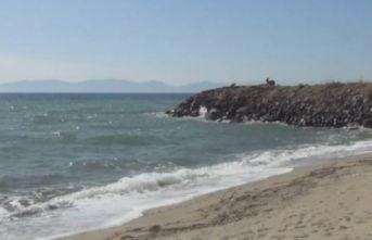 Düzensiz göçmenler sahilleri boşalttı