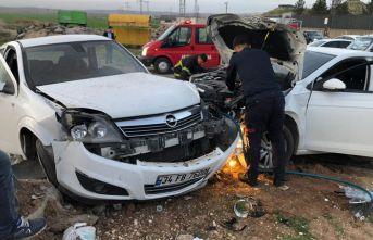 Mardin'de korkutan trafik kazası