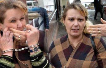 Hırsızlıktan tutuklanan kadın! Adam öldürsem çekmezsiniz
