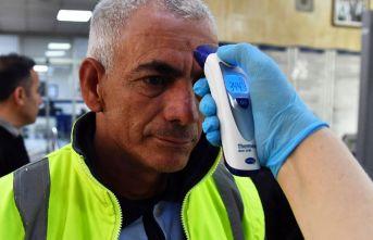 Koronavirüse karşı ateş ölçerli önlem