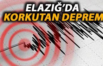 Elazığ 5.0 şiddetinde depremle sarsıldı!