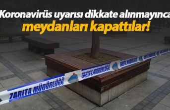 Parklarda toplanmayın uyarısı dikkate alınmayınca...