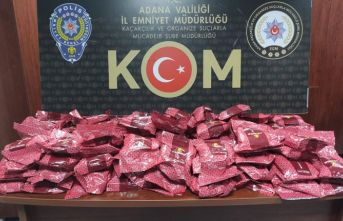 128 kilo kaçak nargile tütünü yakalandı