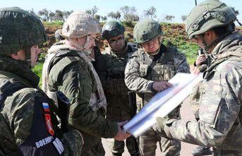 İdlib'de ikinci Türk-Rus kara devriyesi icra...