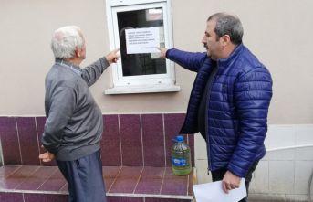 Trabzon'daki muhtardan örnek kampanya 'Evimde...
