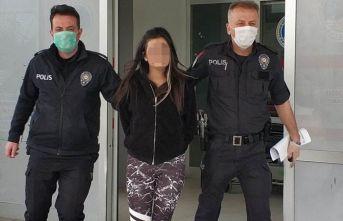 Doktora saldıran genç kız tutuklandı